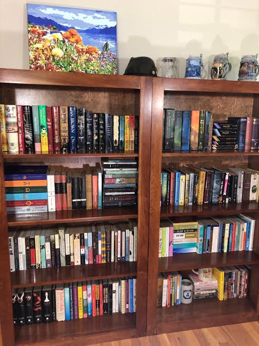 Cherry Bookcases3