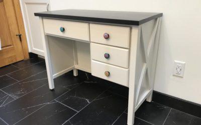 Diane's vanity/jewelry table